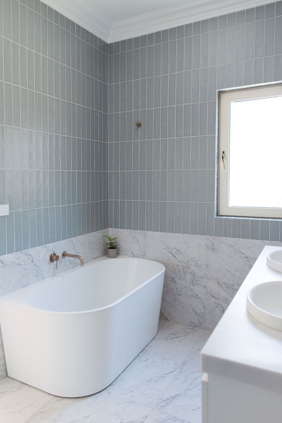 Bathroom Before And After Modern Take On A Victorian Bathroom