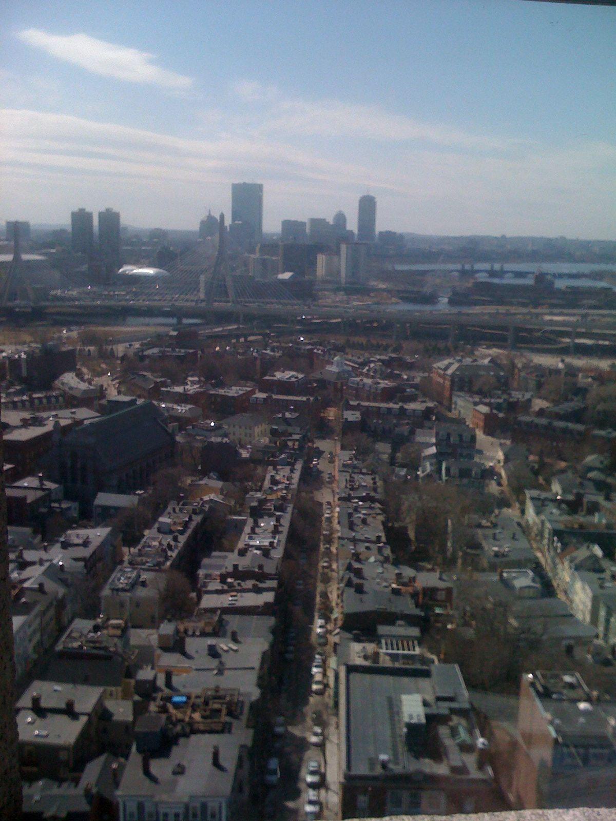 Boston...Gotta love this city!