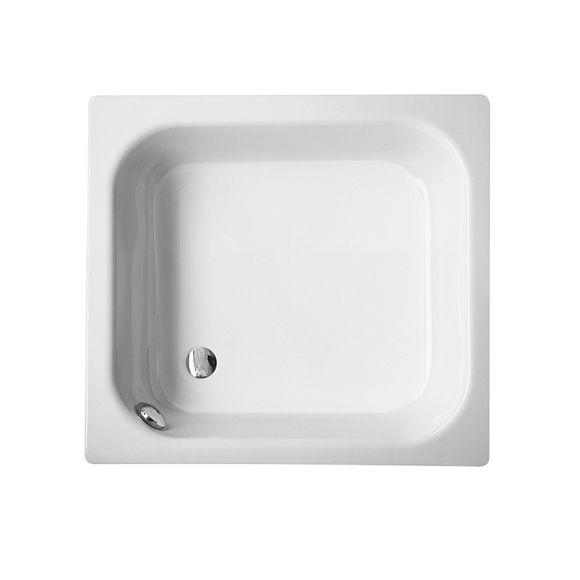 Bette Duschwannen deep rectangular shower tray white in