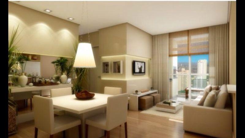 Ambiente de sala apartamento decorado Admira Icarai
