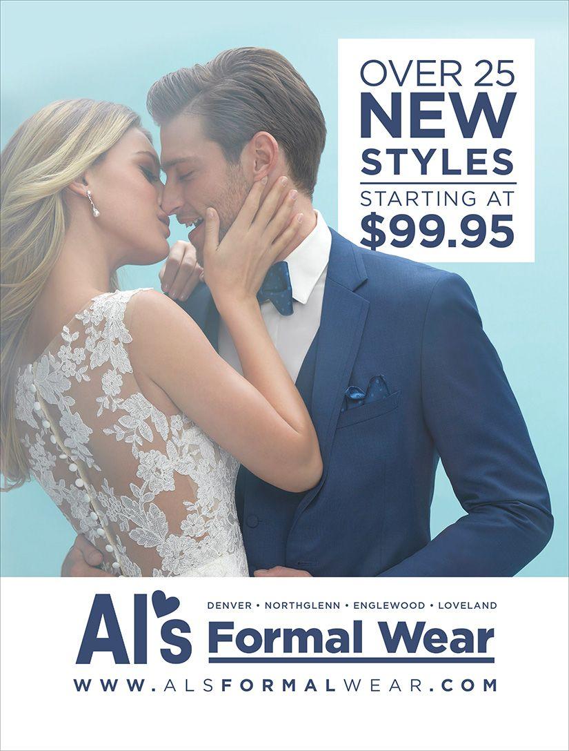 Alus formal wear colorado wedding u special event formal wear