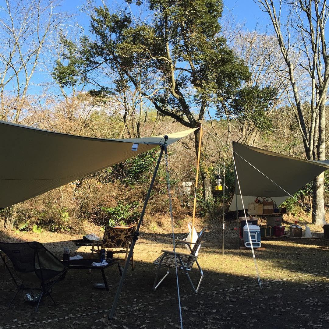 あけましておめでとうございます 今年一発目は野郎2人でおキャンプ キャンプ 新富士オートキャンプ場 Outdoor Patio Umbrella Outdoor Decor