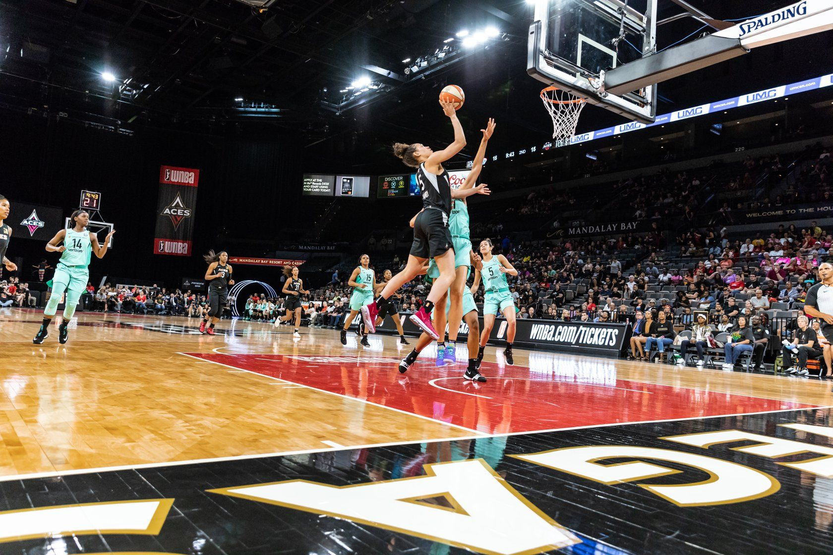 Top Things To Do In Las Vegas In August Cheer On The Las Vegas Aces At The Mandalay Bay Events Center This Summer In Las Vegas Las Vegas Vegas Stuff
