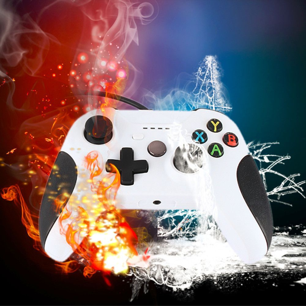 USB Wired Gamepad Remote Controller For XBOX One Slim S Controller ...