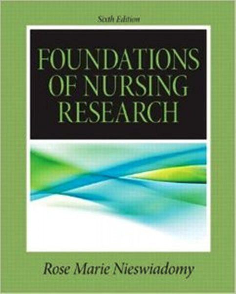 Foundations in nursing research 6th edition pdf e book sold foundations in nursing research 6th edition pdf e book sold by fandeluxe