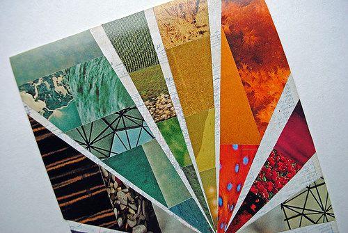 Magazine-mosaic-2 by Mary Brack ~ www.mewithmyheadintheclouds.blogspot., via Flickr