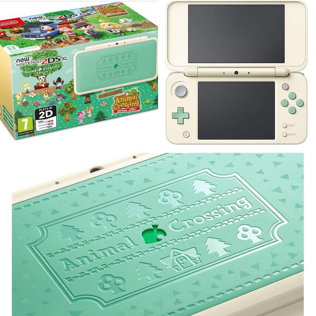 Nuevo New Nintendo 2ds Xl Edicion Especial De Animal Crossing Juego A C New Leaf Welcome Amiibo Disponible A Partir Del Amiibo Animal Crossing Stucco Homes