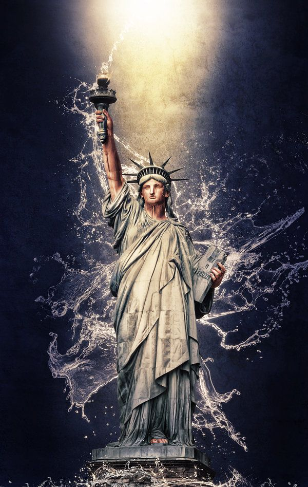 Statue of Liberty by *G-10gian82 on deviantART