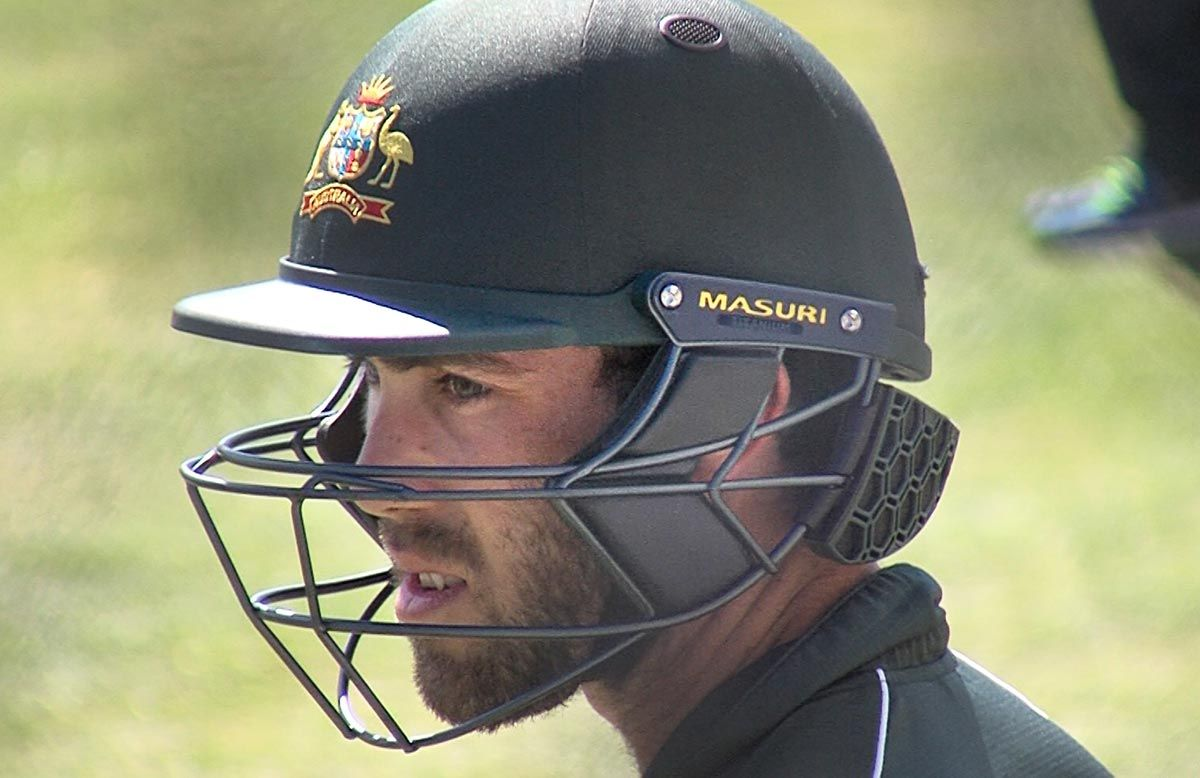 Australian players trial new helmet attachment cricket