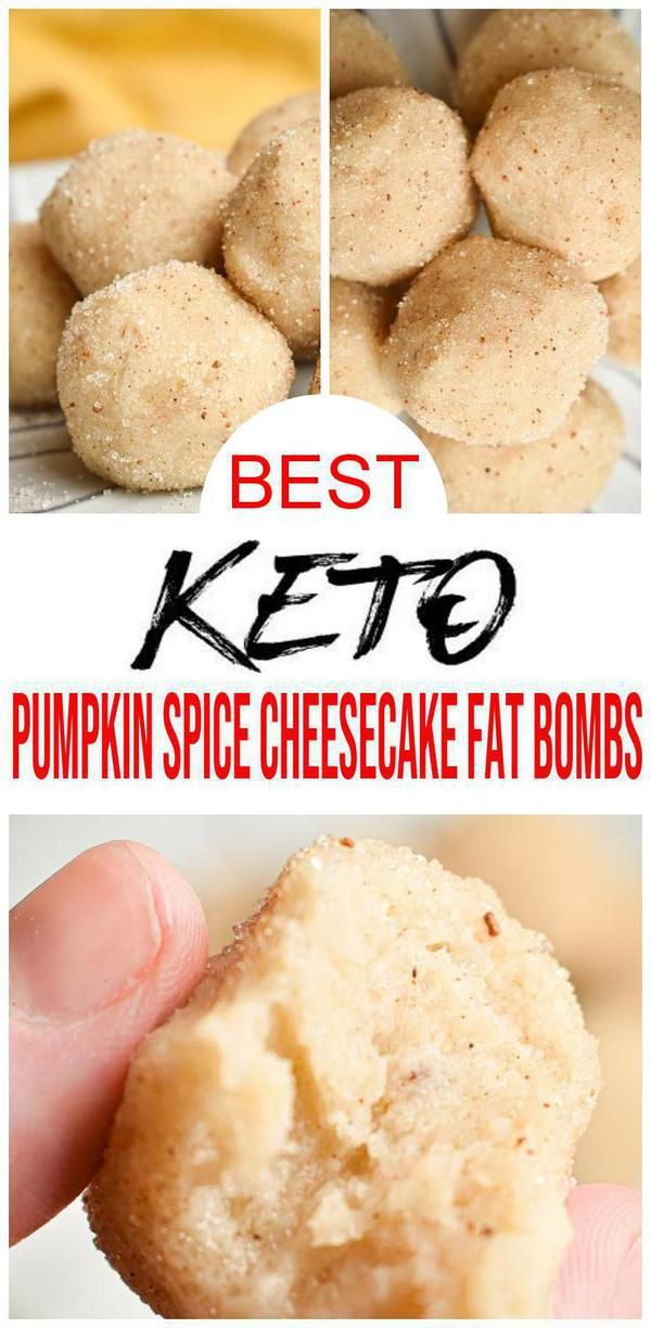 BEST Keto Fat Bombs! EASY Low Carb Pumpkin Spice Cheesecake Fat Bomb Idea – Quick & Simple Ketogenic Diet Recipe – Completely Keto Friendly