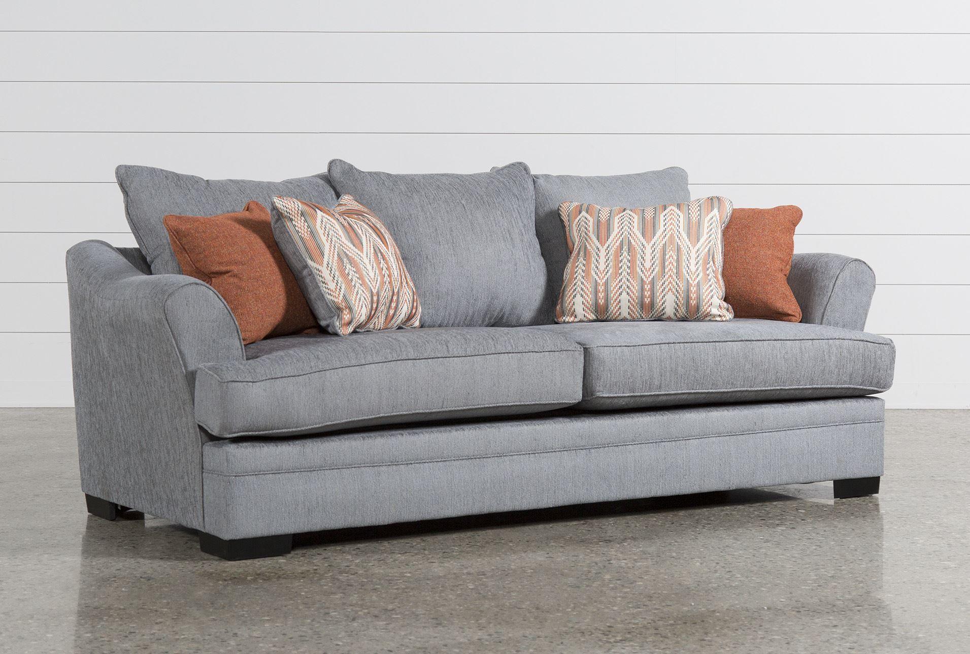 Milari Linen Sofa $425 Living Spaces Furniture