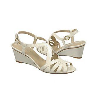 NaturalizerR Happening Wedge Sandals Bridal ShoesWedding