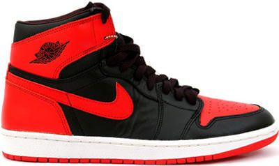 High Cut Air Jordan 1 I Retro Mens Shoes White Black Red