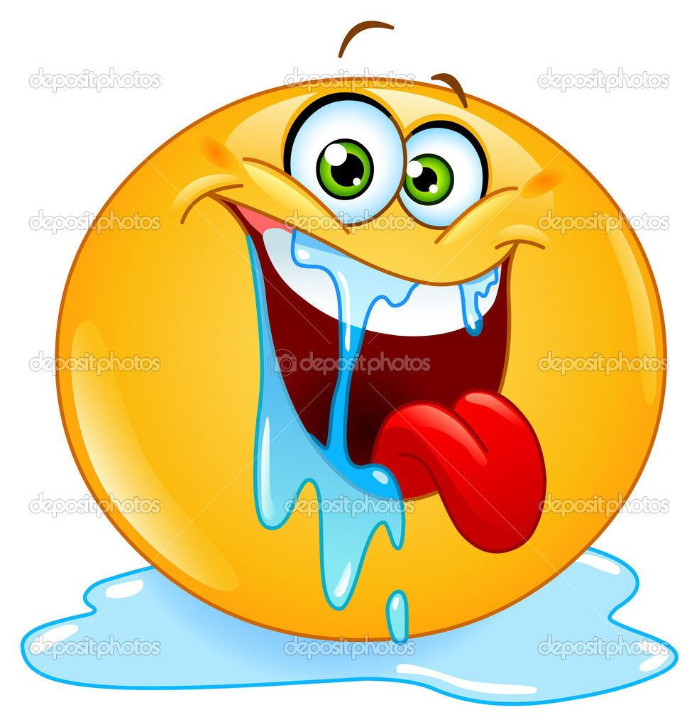Drooling emoticon stock vector yayayoyo 9656692 emoji drooling smiley copy send share send in a message share on a timeline or copy and paste in your comments biocorpaavc