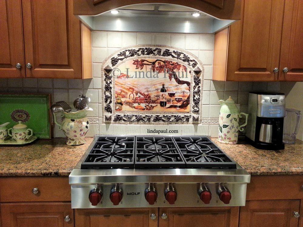 17 Best images about Kitchen Backsplash Ideas and designs on Pinterest   Backsplash  tile, Tuscany and Metal frames
