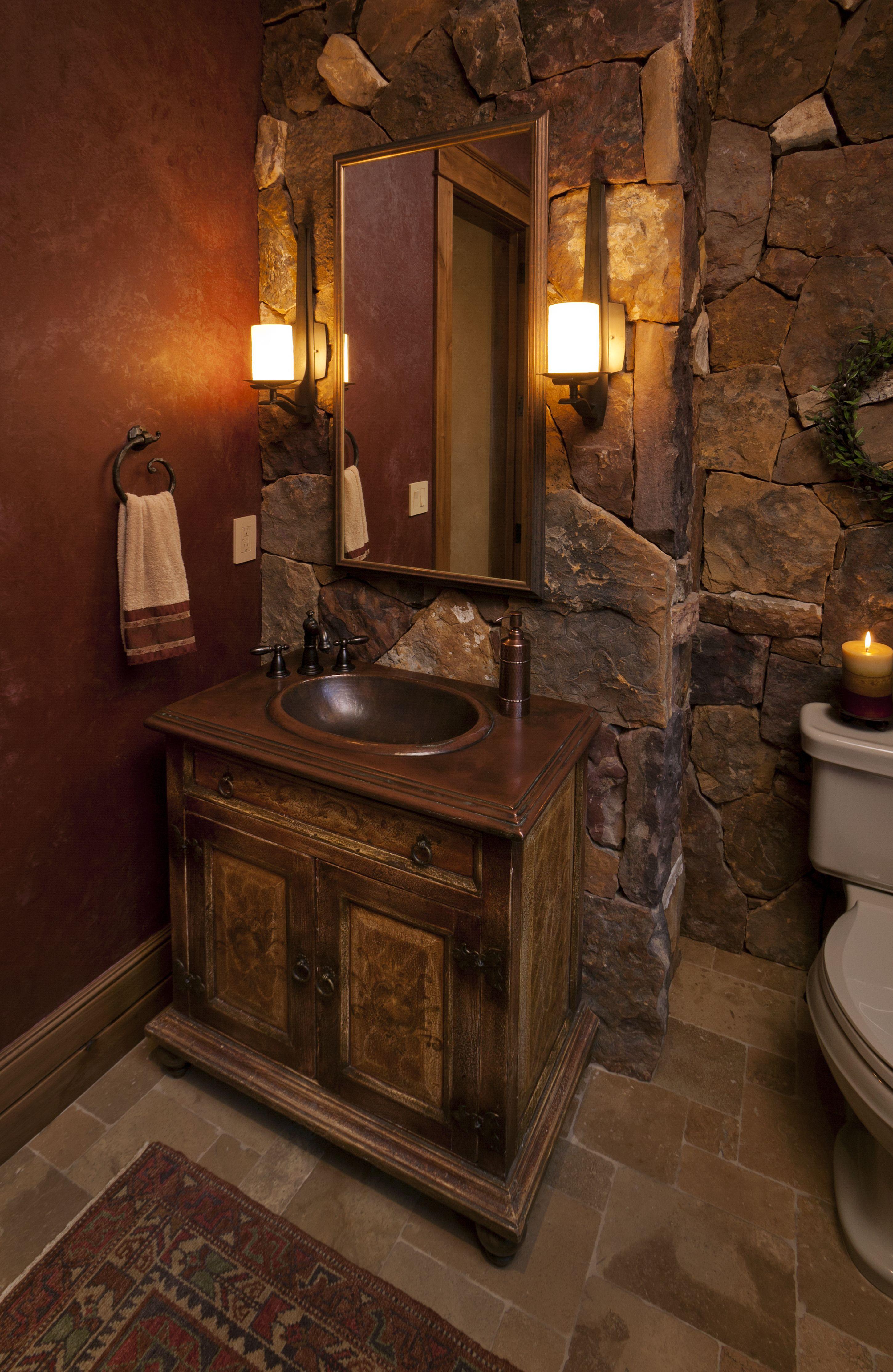 Pin von Mbel Deko auf Mbel  Badezimmer rustikal