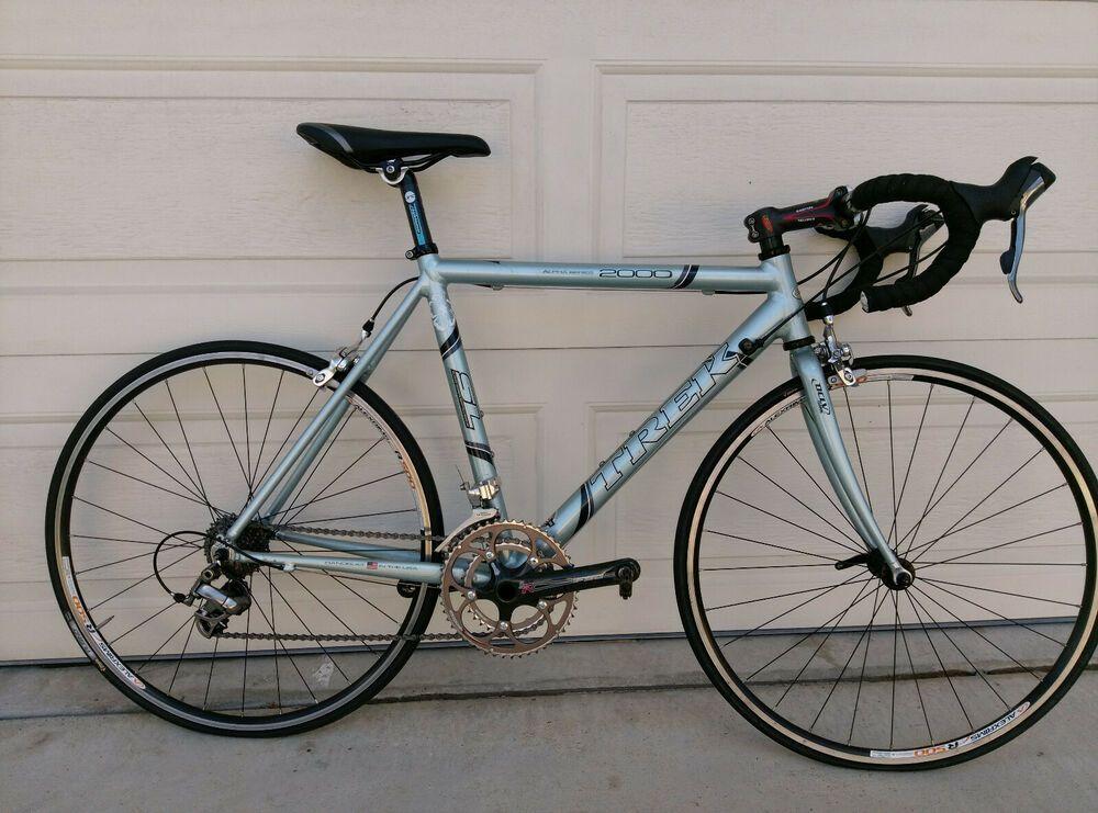 Trek 2000 Alpha Sl Wsd 47cm Small Road Bike 650c Wheels Bicycle Bike Road Bicycle Bikes Bicycle