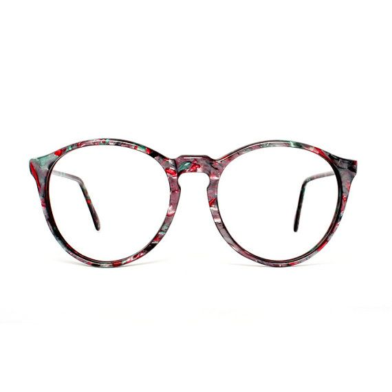 Hey I Found This Really Awesome Etsy Listing At Https Www Etsy Com Listing 61688767 Purple Green Pink Roun With Images Vintage Eyeglasses Eyeglasses Eyewear Inspiration