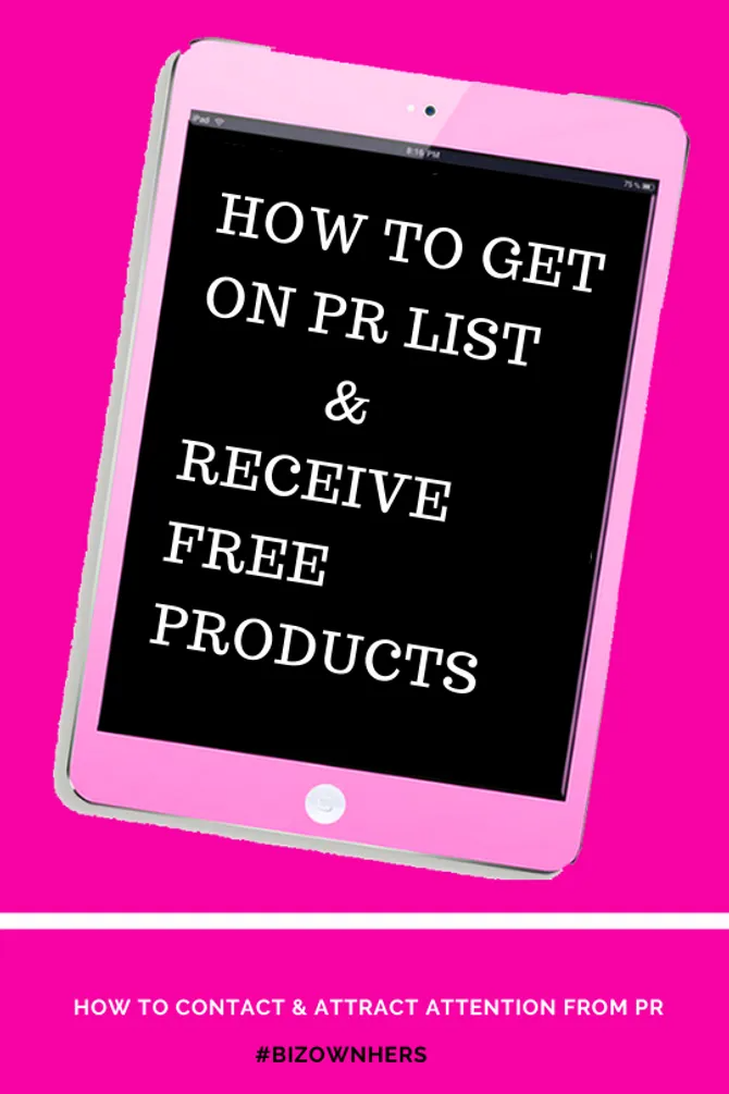 How To Get On Pr List In 2020 How To Get Money Blogging List