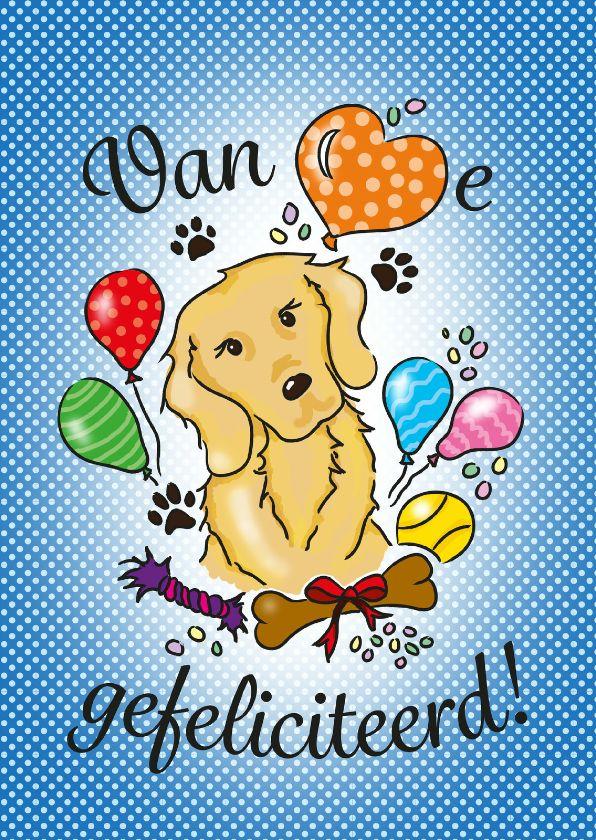 Felicitatie Hondenliefhebber Verkrijgbaar Bij Kaartje2go Voor 1