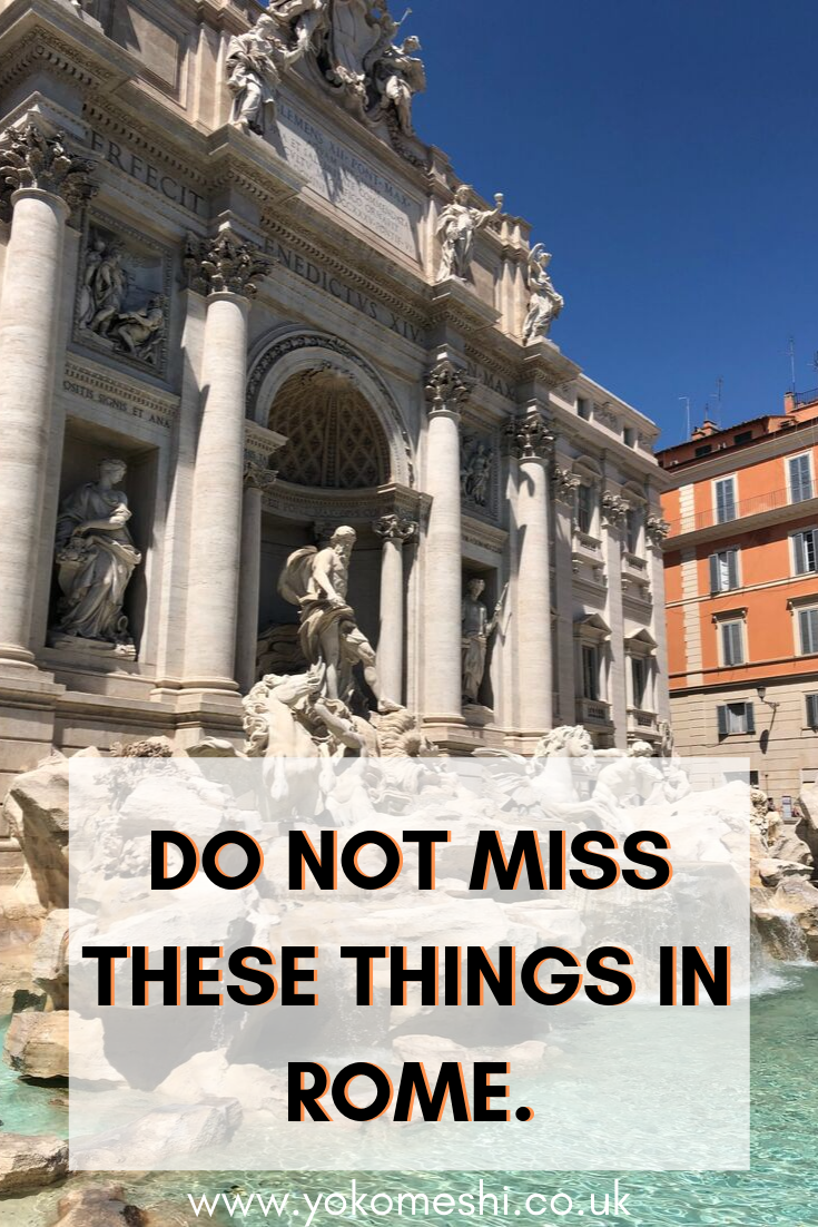 7 Things To Add To Your Rome Bucket List Italy travel