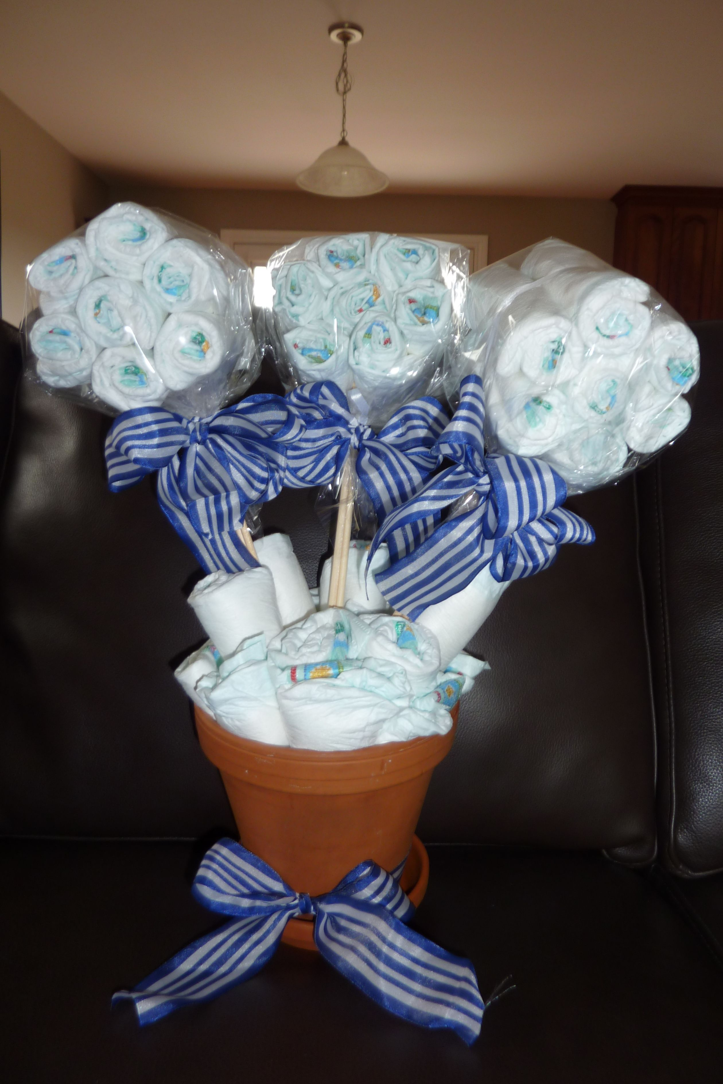 My Gift For My Friends Diaper And Wipes Baby Shower For