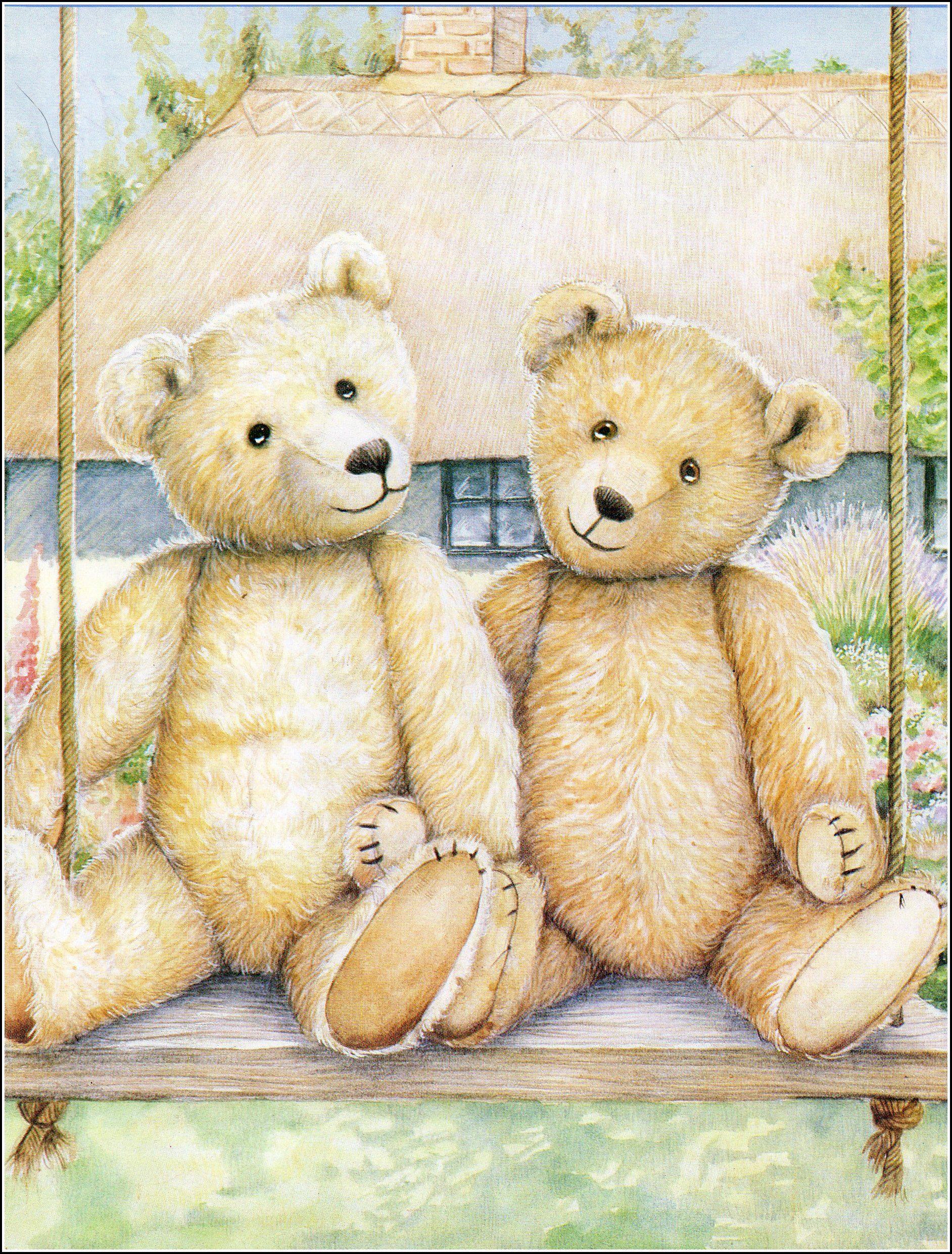 Радикал-Фото: Картинка - | Картины с медведями, Плюшевые ...