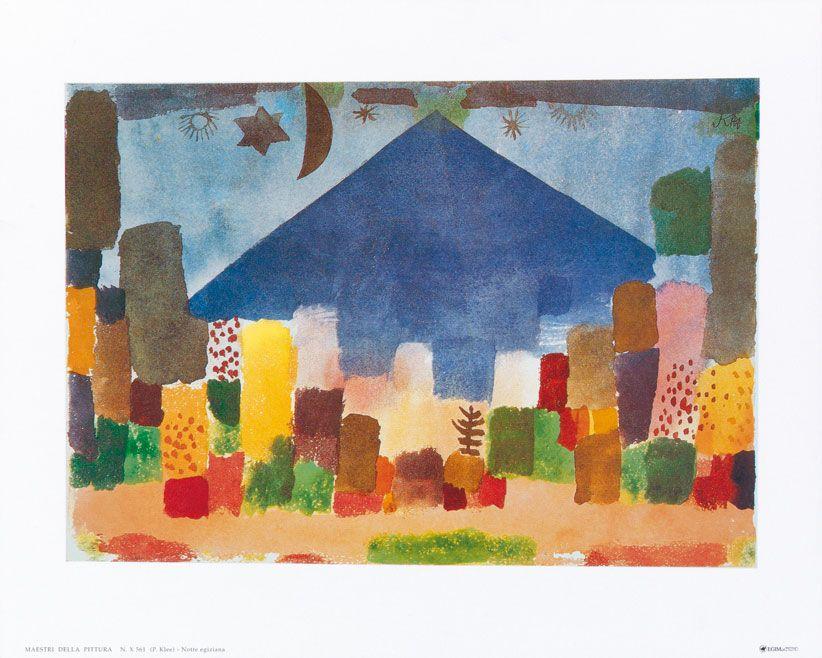 Afbeelding Paul Klee - Notte egiziana | Paul Klee | Pinterest ...