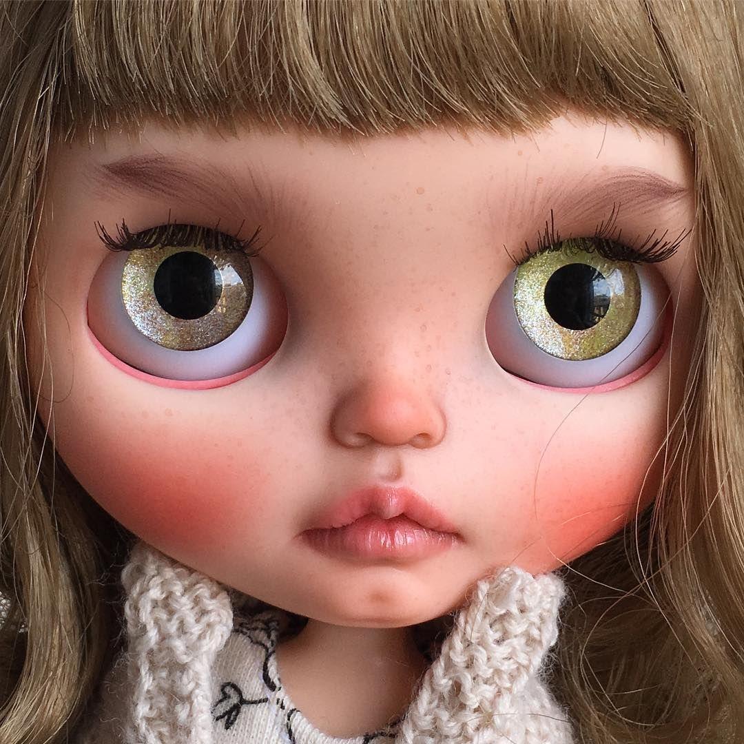 Unedited Bambi. Soon in my store. #tiinacustom #customblythedoll #blythe
