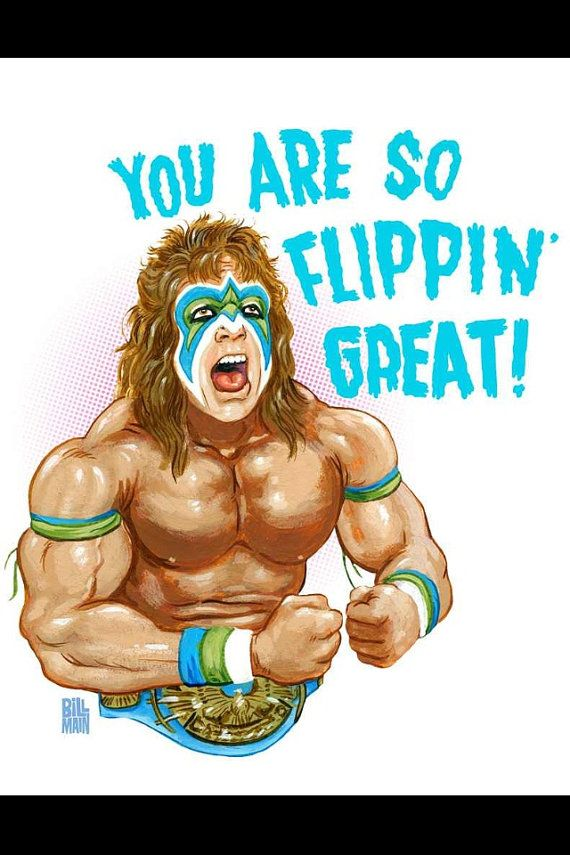 Ultimate Warrior Happy Birthday Google Search Coltons Birthday