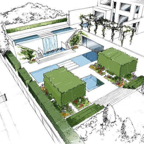 Concept Design By Thomas Hoblyn Suffolk Garden Design