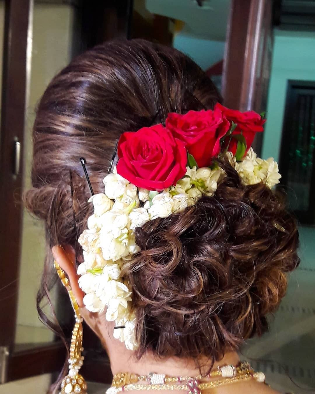 Pin By Indianfoodspices On Hairstyle Bun Hairstyles Wedding Bun Hairstyles Bridal Hair Buns