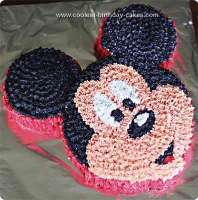 Coolest Mickey Mouse Birthday Cake Design Mickey mouse birthday