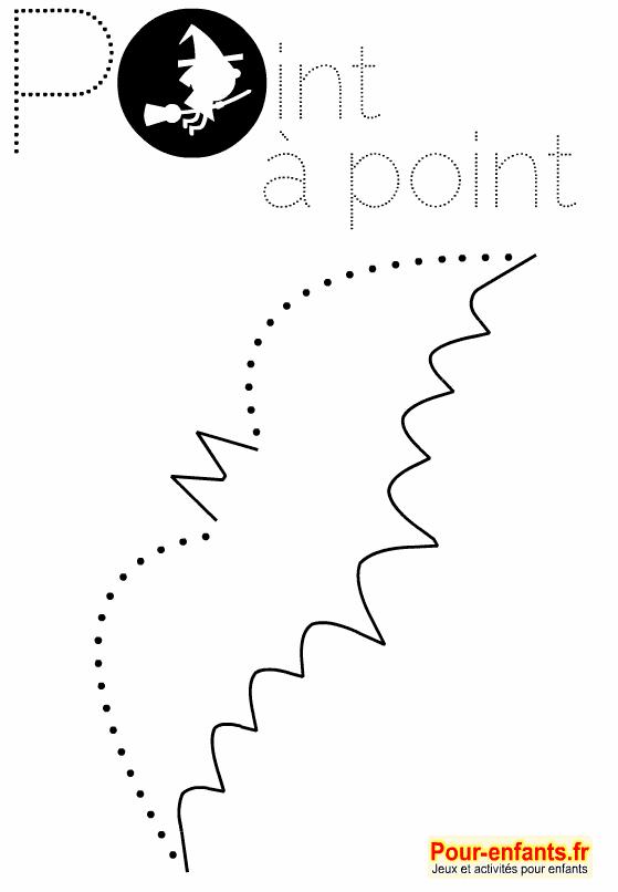 Coloriage point point halloween imprimer dessin de chauve souris en pointill s points - Chauve souris a imprimer ...