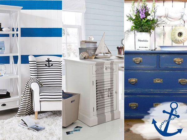 maritim einrichten accessoires selbermachen casera pinterest maritim m bel und wohnen. Black Bedroom Furniture Sets. Home Design Ideas