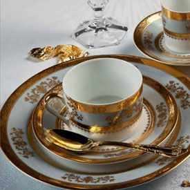 China Dinnerware Formal Dinnerware Philippe Deshoulieres 6289 Orsay Powder Blue 5 pc place setting & China Dinnerware Formal Dinnerware Philippe Deshoulieres 6289 Orsay ...