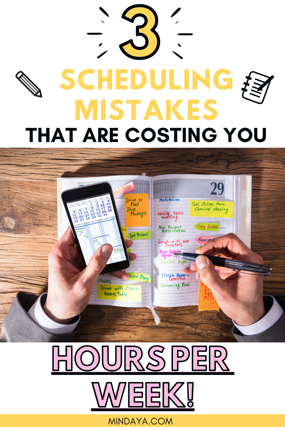 3 Scheduling Mistakes that are destroying your ...