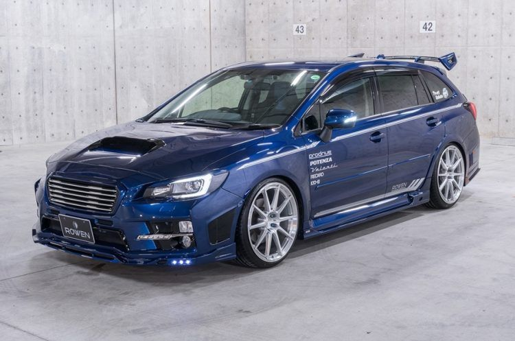 Subaru Levorg Usa >> Subaru Levorg Shows Its Tuning Side With Rowen Kit Subaru Subaru