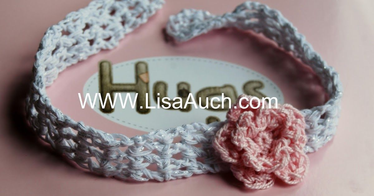 How to Make Baby Headbands 3 FREE Crochet patterns for Baby ...