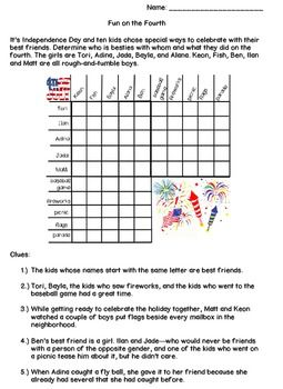 4th Of July Worksheet With Images How To Memorize Things