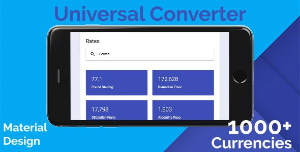 Universal Converter Global Currencies Conversion Rates
