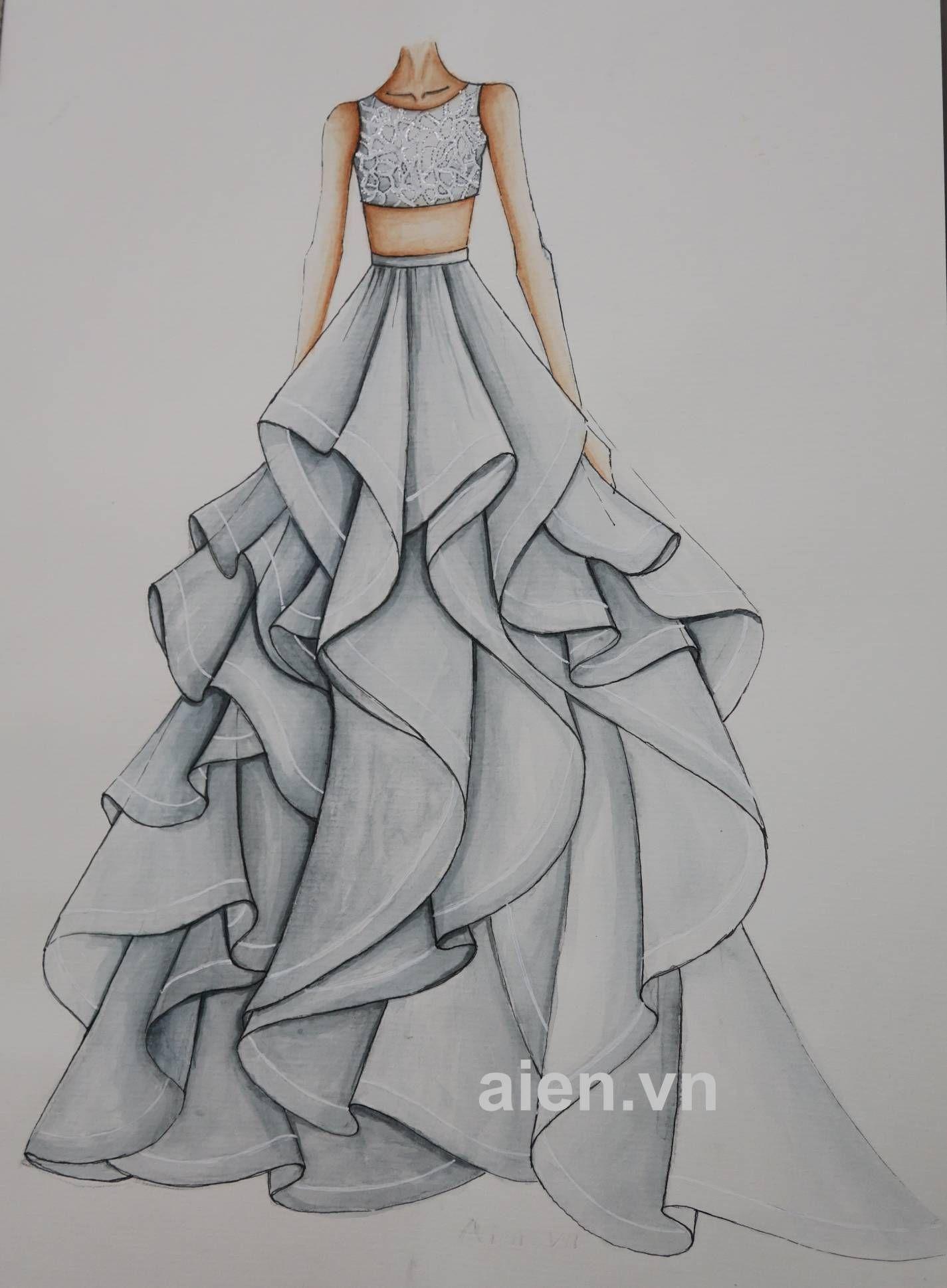 Mẫu phác thảo a07 dress design drawing dress design sketches wedding dress sketches