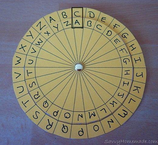 Making A Cipher Wheel | Nia's Board | Cipher wheel, Spy gear
