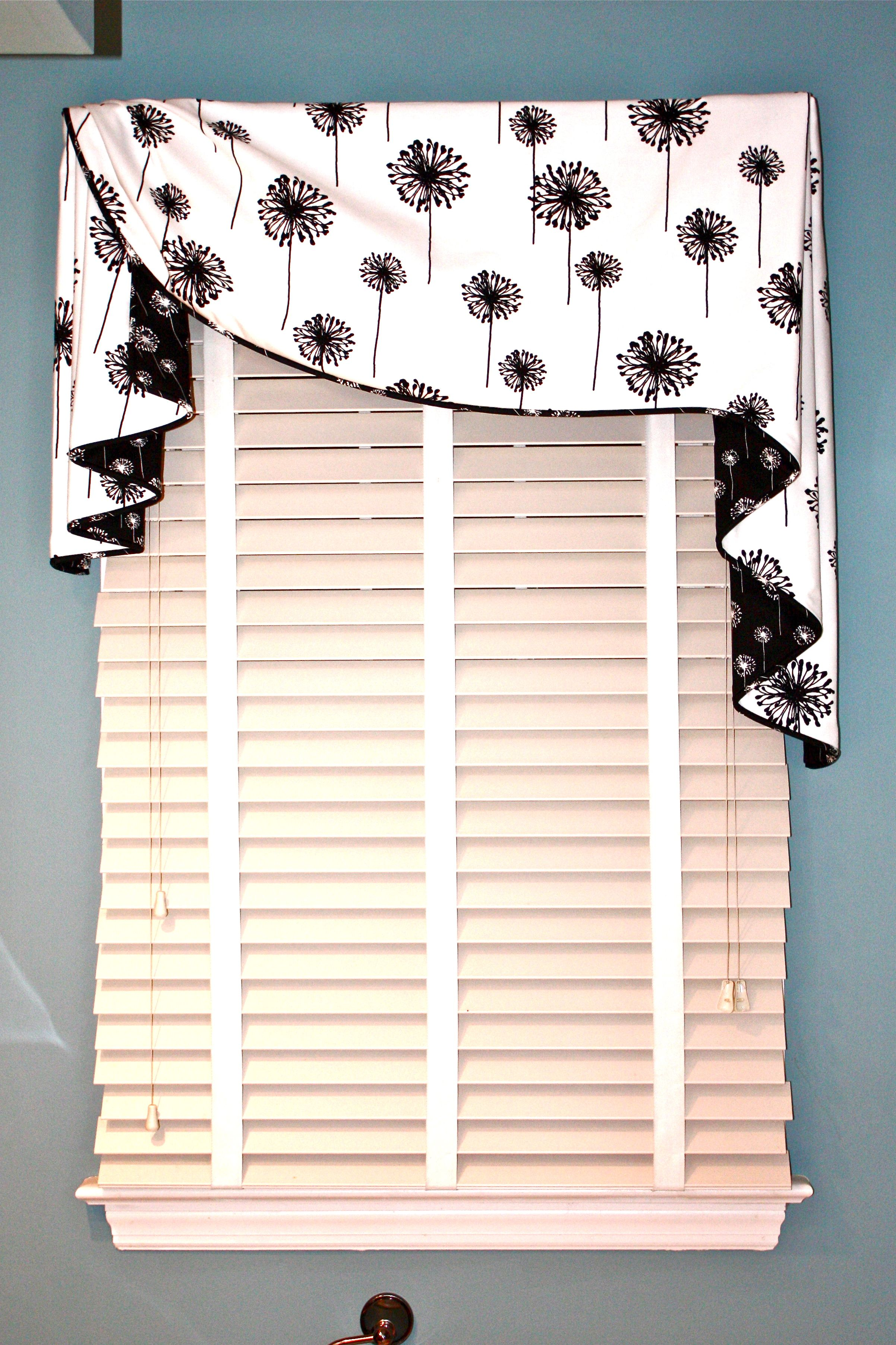 Simple Valance For Girl S Room Valance Window Treatments