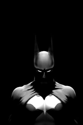 Batman Dark Illustration Iphone 6 Plus Hd Wallpaper Mobile