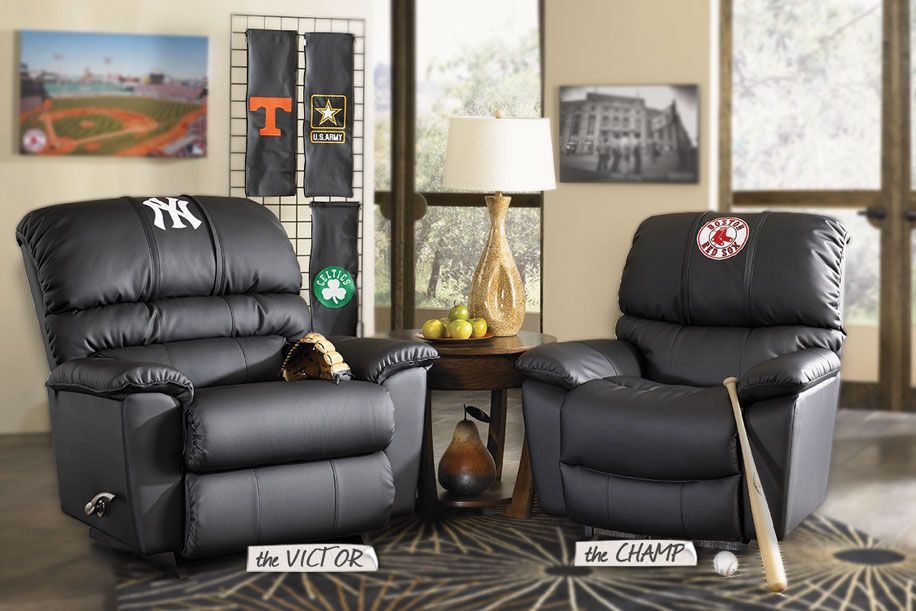 Man Cave Recliner Chairs : Customized panel inserts xzipit by la z boy recliners interior