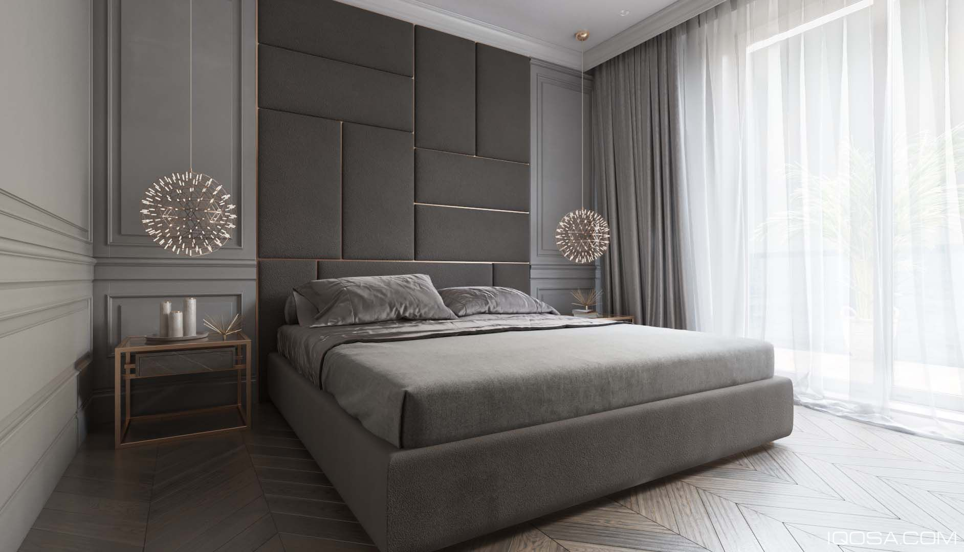 Modern Classic Kamar Tidur Interior Rumah Interior