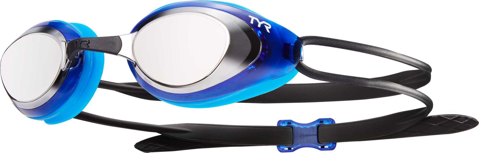 f6d91f82f71 TYR Blackhawk Mirrored Racing Swim Goggles