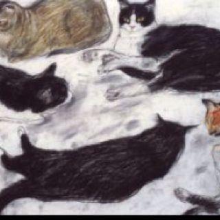 Elizabeth Blackadder.  Scottish Artist