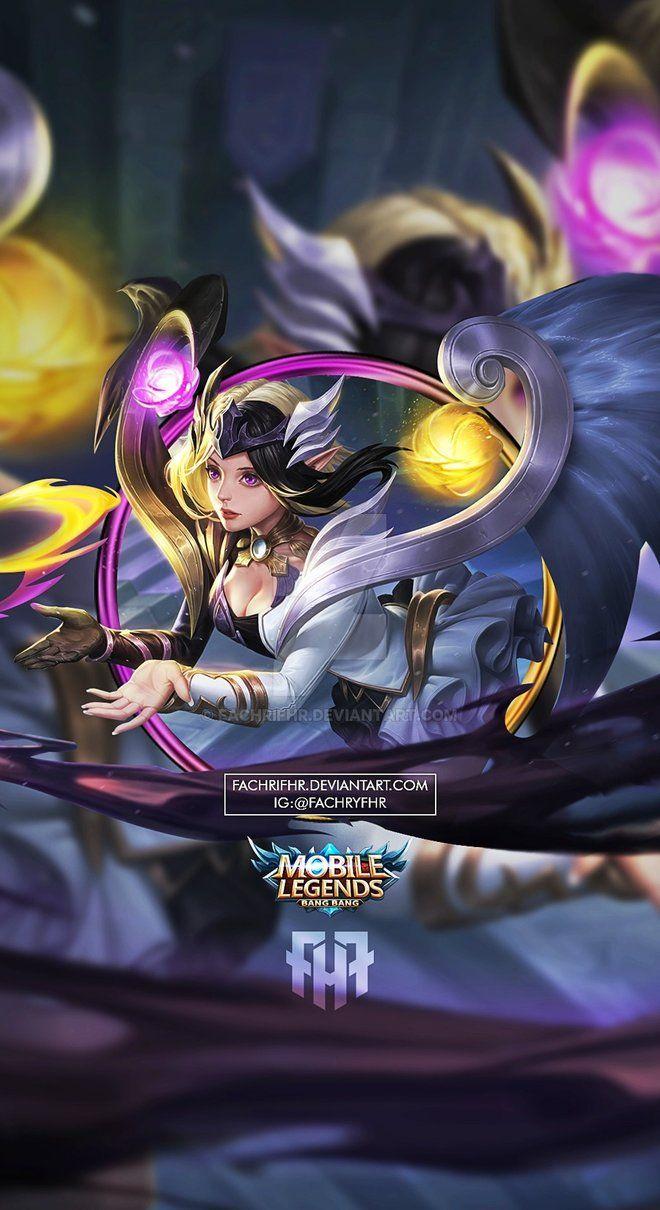 Wallpaper Phone Lunox Twilight Goddess by FachriFHR on DeviantArt